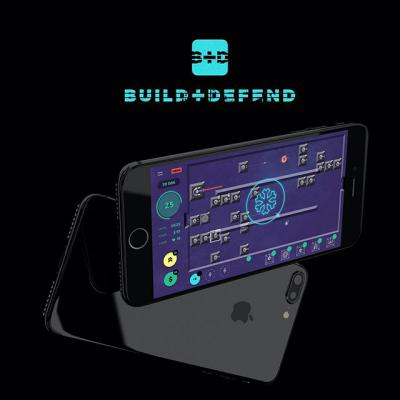 2018 Build Defend game loudmark portfolio gamedesign design designgame graphics digital digitalstudio graphicdesign creative creativestudio