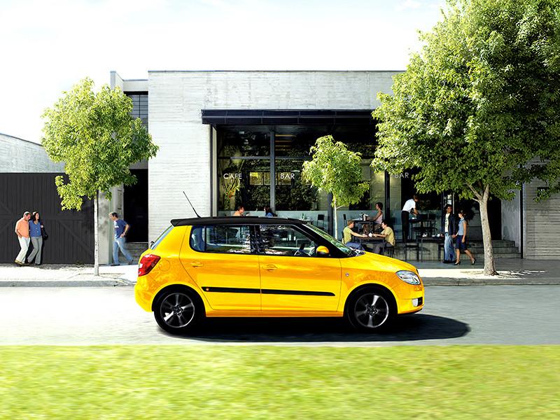 Škoda Fabia II Shell Edition